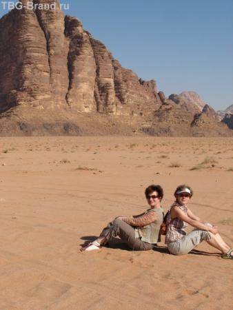 Ну, как мы смотримся в пустыне?! - ХорошИ!