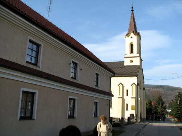 в каждом городке есть непременно церковь