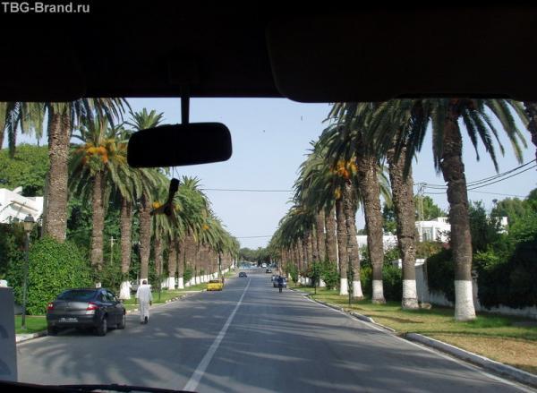 улицы Туниса