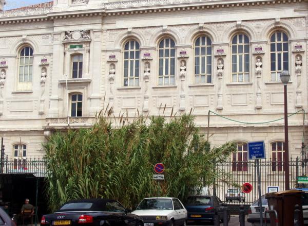 Это тоже оперный театр Марселя