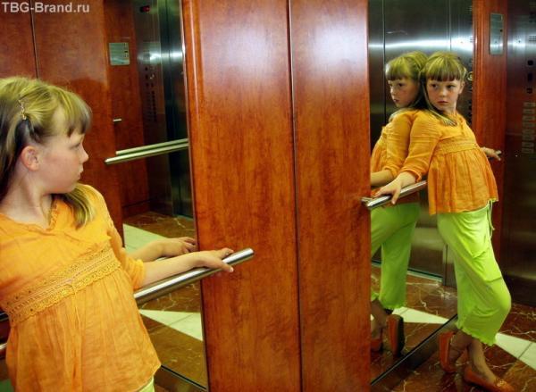 вобще-то в лифте нас двое