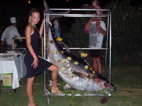 То можно поймать крупную рыбу!