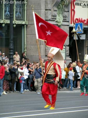 Яркие турецкие оркестранты