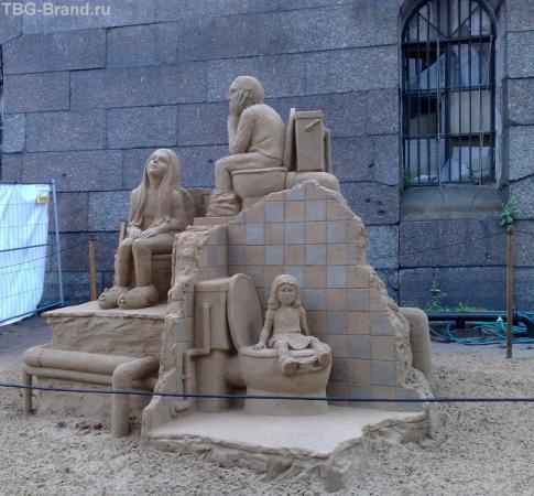 И это тоже из песка!