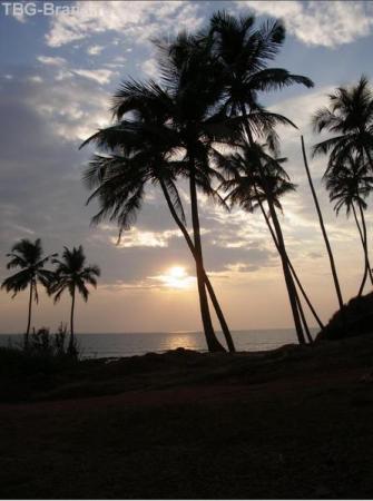 Закат на Вагаторе
