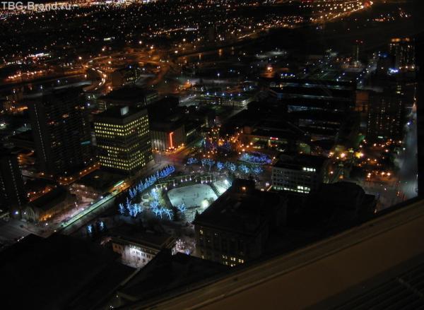 Калгари-центр. вид с Calgary Tower