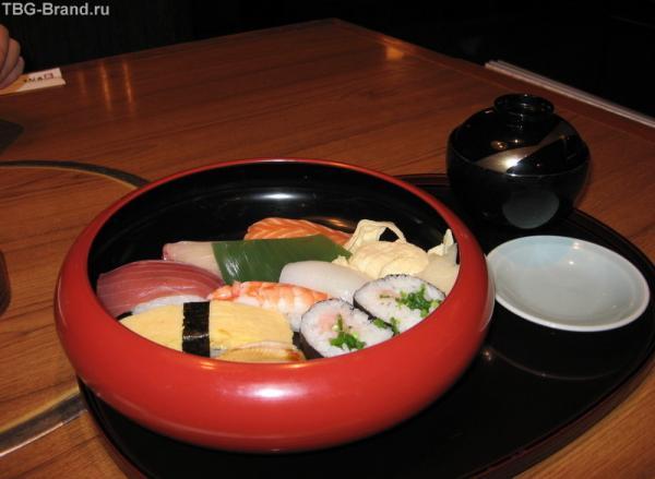 эти суши (по-японски суси) настоящие!