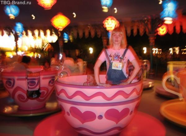 танец в чашках