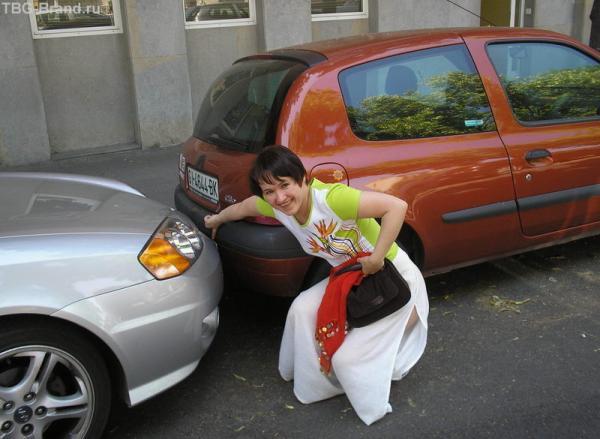 Вот так они паркуются