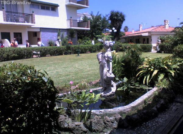 в испании наш отель