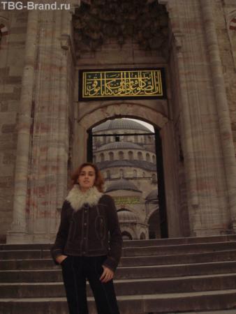 В Голубой Мечети
