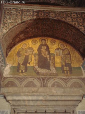 В Соборе Св. Софии