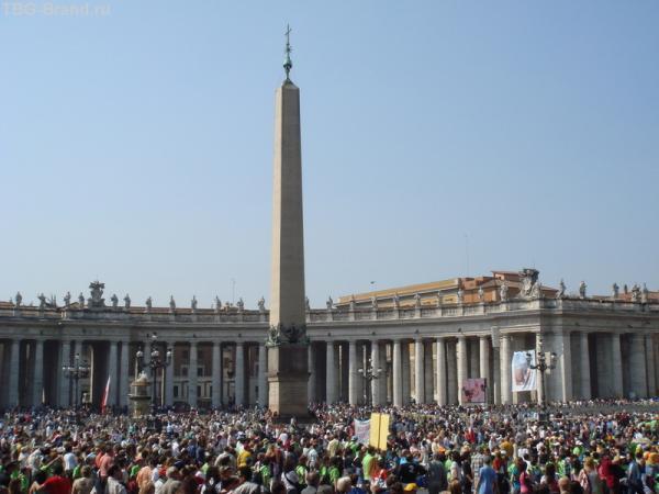 Ватикан в ожидании выступления Папы Римского
