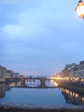 Ponte Vecchio ночью