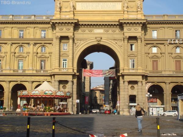 Старинный центр Флоренции