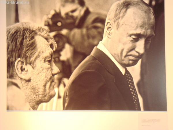По взгляду на президента Украины можно многое понять