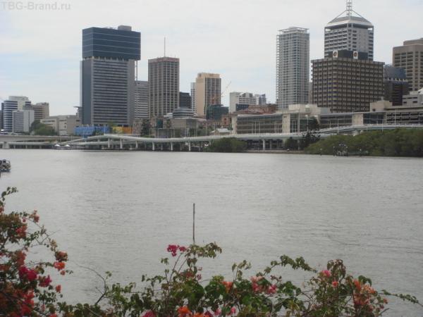 река Brisbane