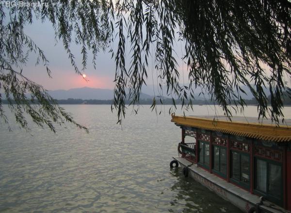 Ихэюань-закат