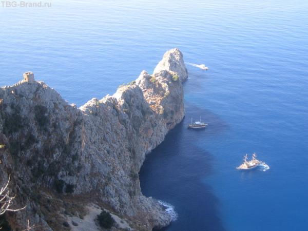 Акдениц - белое море
