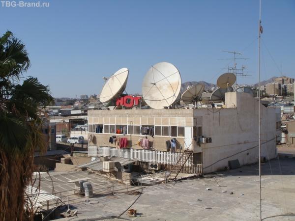 Эйлат - тоже город контрастов