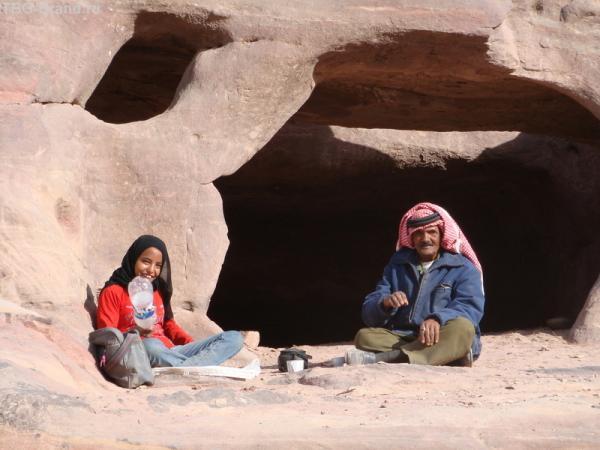Семья бедуинов
