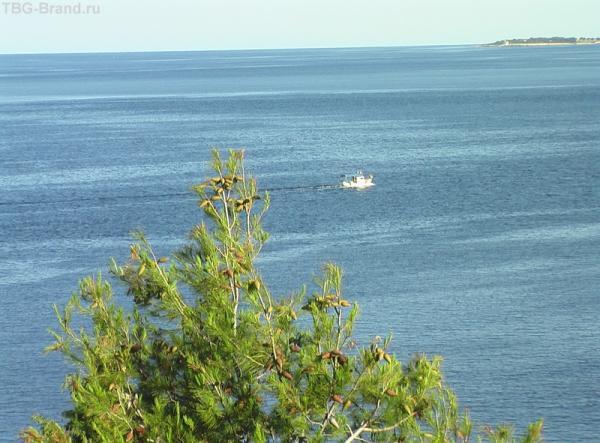 Вид на море из номера - что еще человеку нужно?