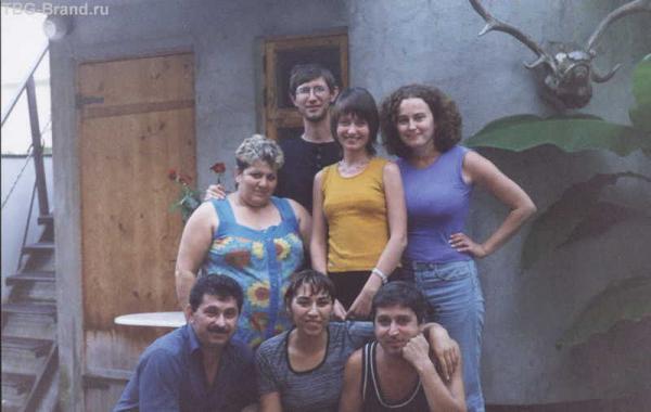 Это участники приключения и трудовой коллектив пансионата, где мы жили.
