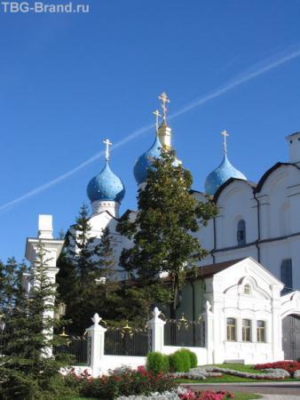 Благовещенский собор-самый древний из православных соборов Среднего Поволжья