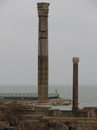 Руины терм римского Карфагена