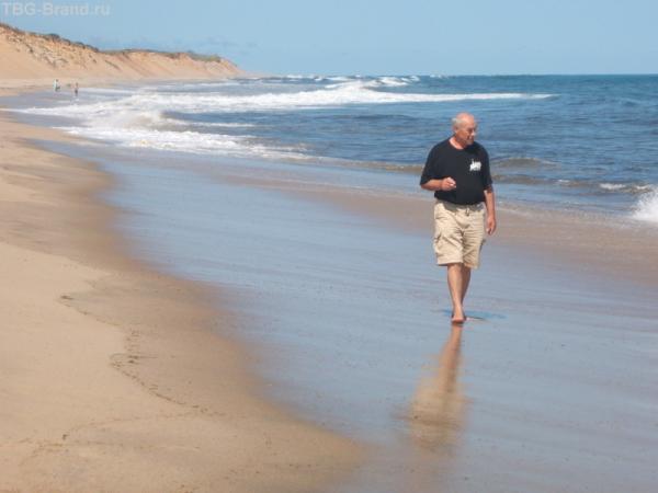Борис на берегу Атлантики