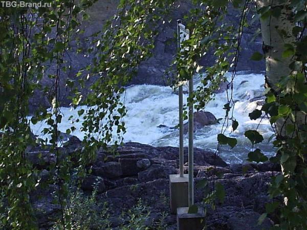 Иматра. Водопад-горная речка