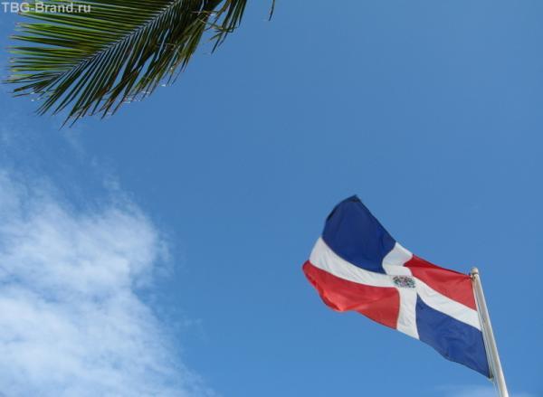 Доминиканский флаг!