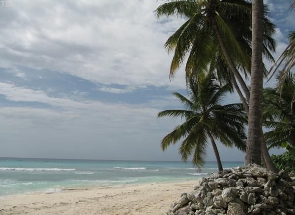 остров Саона, было очнь пасмурно:(