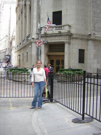Та самая незаметная New York Stock Exchange )))
