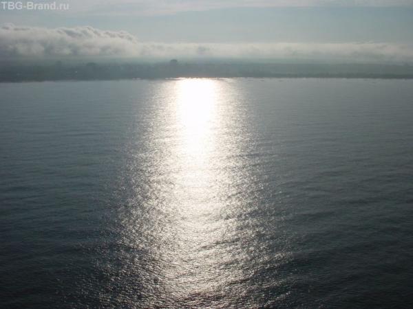 3 минуты лёта до берега Фритауна.