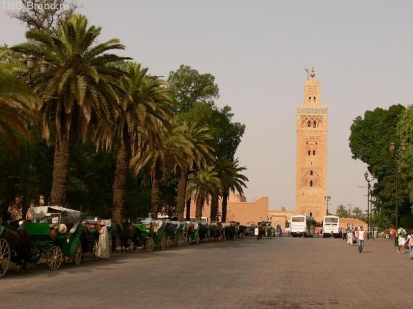 Мечеть Эль Куттубия поможет вам не заблудиться - её видно практически из любой части города.