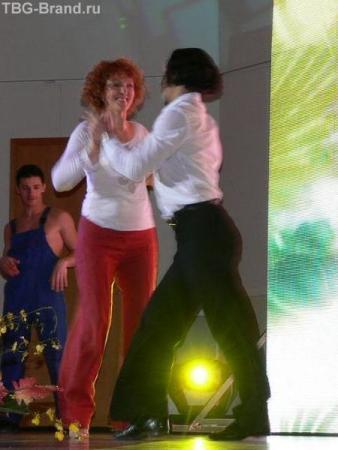А ещё были танцы.