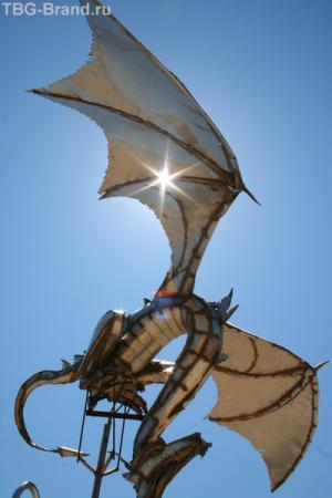 Дракончик - душ на пляже