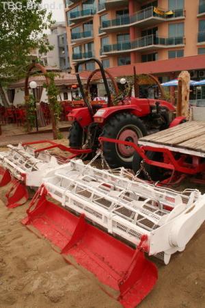 Машинка для чистки пляжа