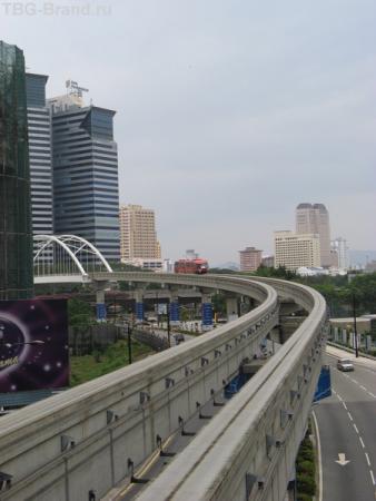 монорельсовая дорога в столице
