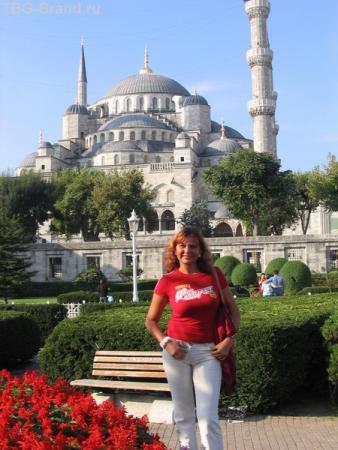 с видом на Голубую мечеть, Стамбул
