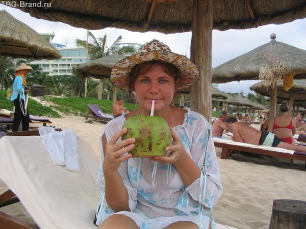 кокосики на пляже