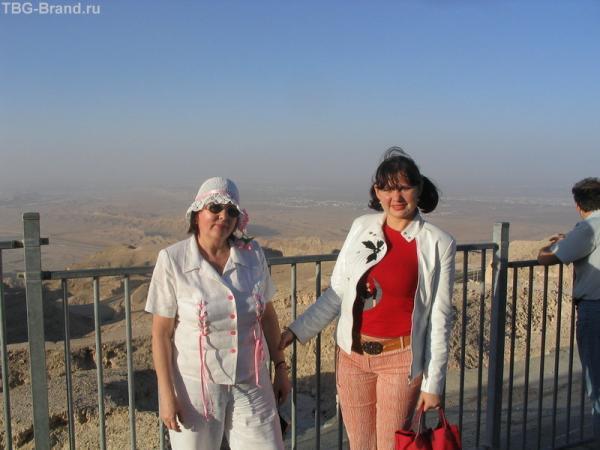 на горе Хафит