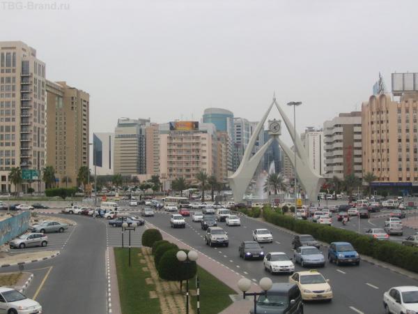 Дубай с мостика