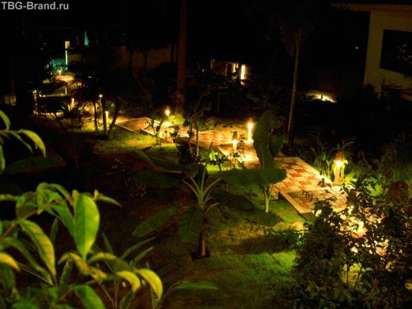 Baan Sukreep ночью