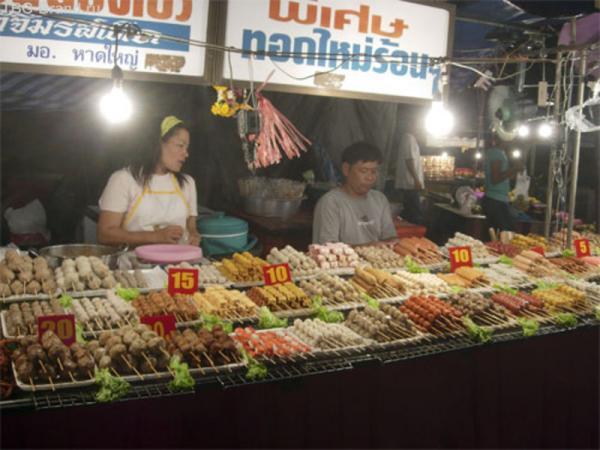 Шашлычки на рынке