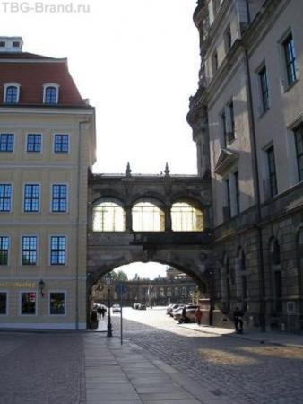 Дрезден, мостик