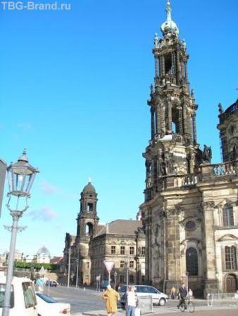 Дрезден, еще домик