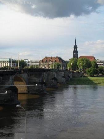 Дрезден, речка