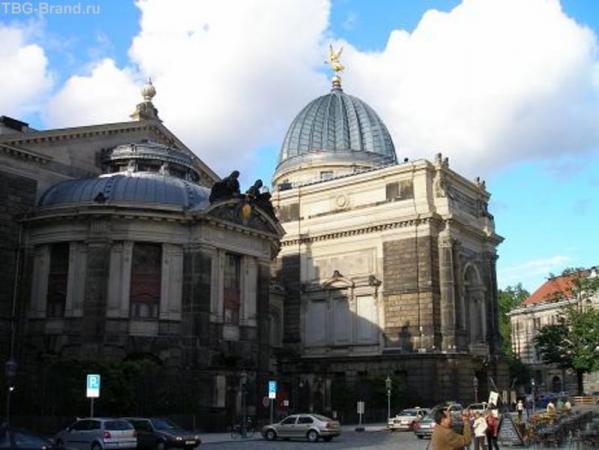 Дрезден, восстановлен и прекрасен